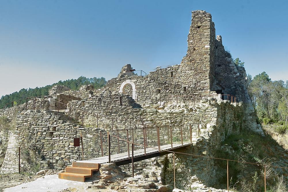 Resultat d'imatges de castell palagret celra