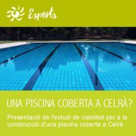 S'ha presentat l'estudi sobre la viabilitat d'una piscina coberta a Celrà