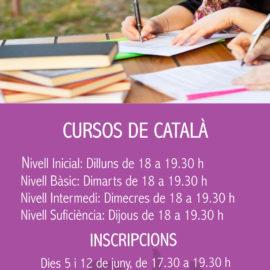 L'Ajuntament proposa diversos cursos de català per a la temporada 2018-2019
