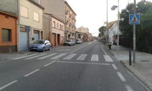 Imatge de la carretera de Palamós