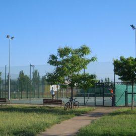 Millores en la il·luminació de les pistes de tennis municipals