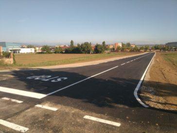 Nou vial a la zona de les Falgueres
