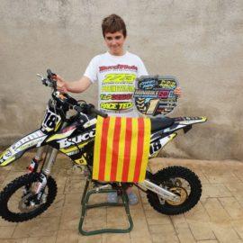 El celranenc Daniel Agea es proclama campió del món de minibike