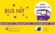 Tiquet del Bus Nit 2018