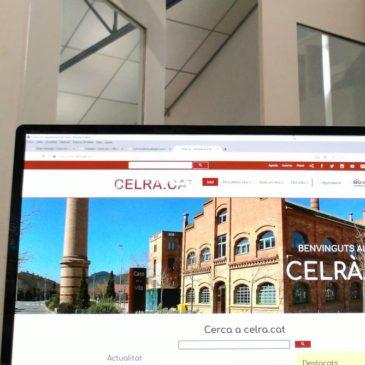 Imatge del web de l'Ajuntament de Celrà