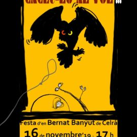 Cartell de la festa d'en Bernat Banyut 2019