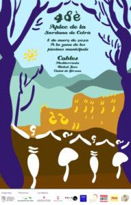 Cartell de l'aplec de la sardana de Celrà 2020