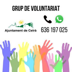 Imatge de difusió del grup de voluntariat