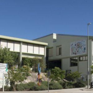Imatge de l'exterior de l'escola L'Aulet de Celrà