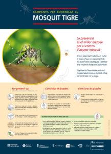 Cartell campanya mosquit tigre